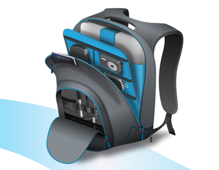 Quirky Trek Support Backpack Will Charge Your Gadgets, Look Good Doing it