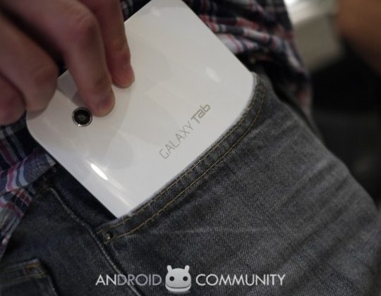 Samsung Galaxy Tab Launching in Four Versions for Major Wireless Carriers