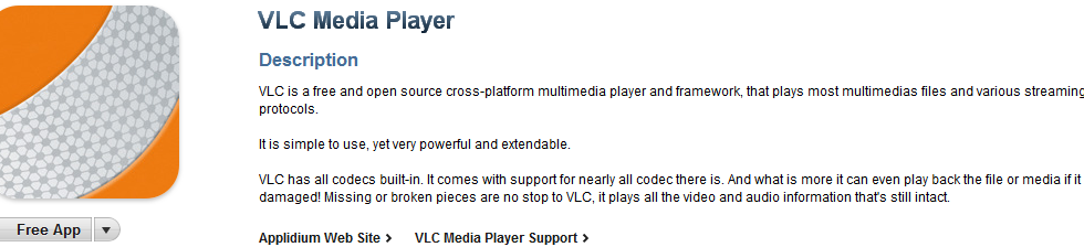 VLC Media Player Available in App Store, Supports Nearly All Codecs There Are