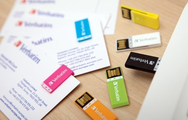 Verbatim Clip-It USB Drive Weighs Literally Nothing, Comes in Multiple Colors