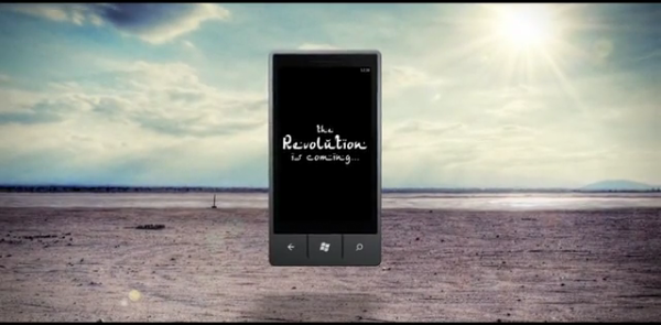 Windows Phone 7 Ad Points Out That the Revolution is Coming