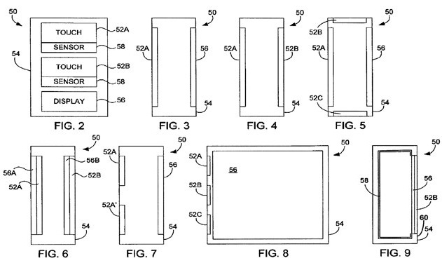 Apple touch patent tips sensor-clad iPhones & iPads
