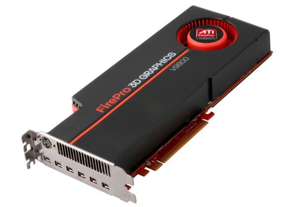 AMD ATI FirePro V9800 4GB gets official: $3,499 of pro graphics