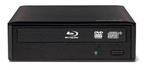 Buffalo debuts Blu-ray USB 3.0 optical drive