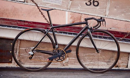 Carbon fiber bike weighs only six pounds!
