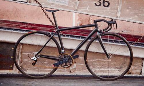Carbon fiber bike weighs only six pounds!
