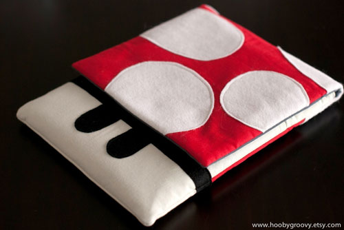 HoobyGroovy offers awesome Super Mario themed cases for iPad and iPhone