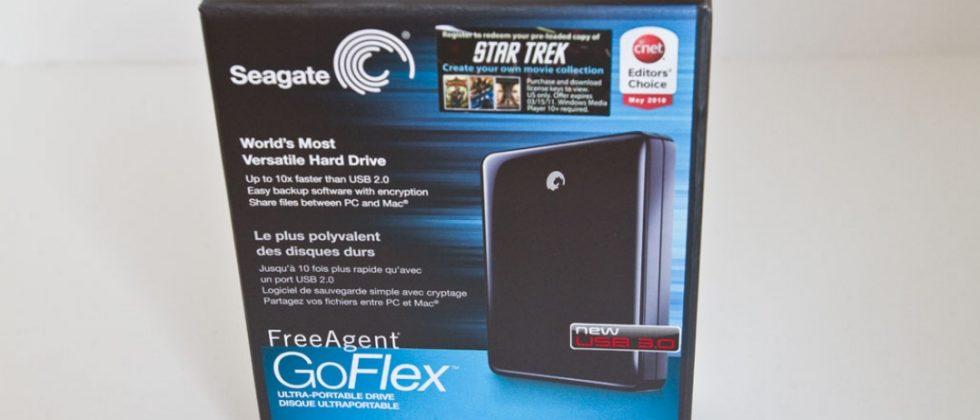 Seagate FreeAgent GoFlex 1.5TB Review