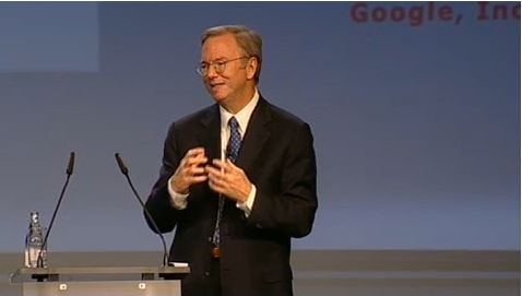Google TV coming fall, 200k Android activations daily claims Eric Schmidt