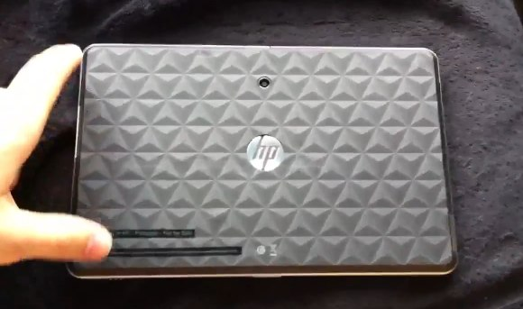 HP Slate leaks out for video demo?