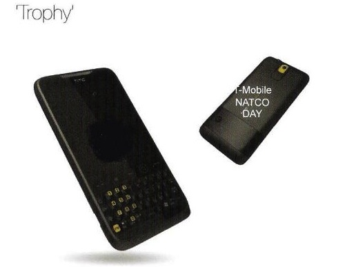 HTC 7 Trophy tipped by Vodafone: QWERTY Windows Phone 7 candybar?