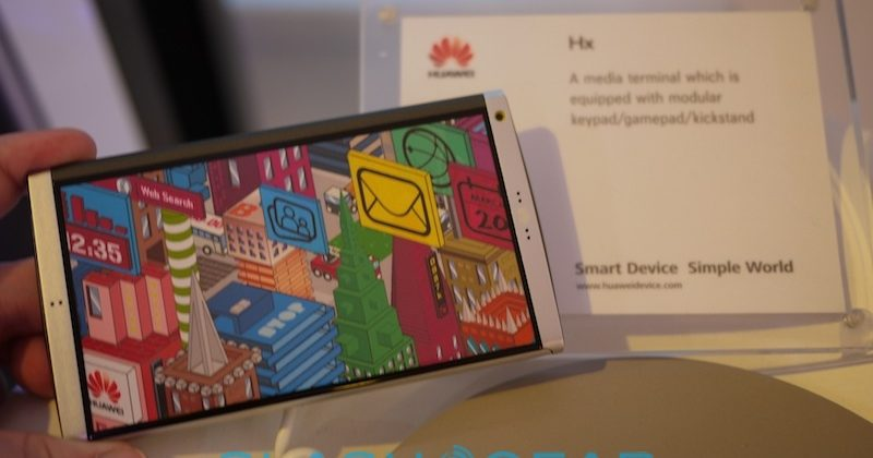 Huawei Ideos U8150, S7 tablet & Hx concept hands-on [Video]