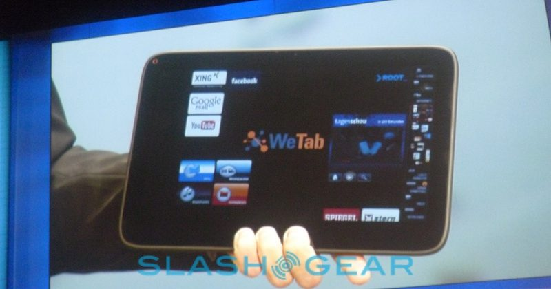 WeTab MeeGo tablet launch confirmed for Sept 21st [Video]