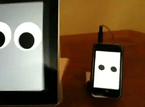iPod, iPhone, and iPad turned into walking robots
