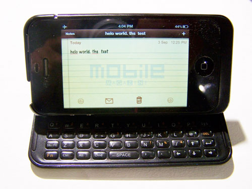 Nuu drops interesting iPhone clamshell with keyboard at IFA 2010