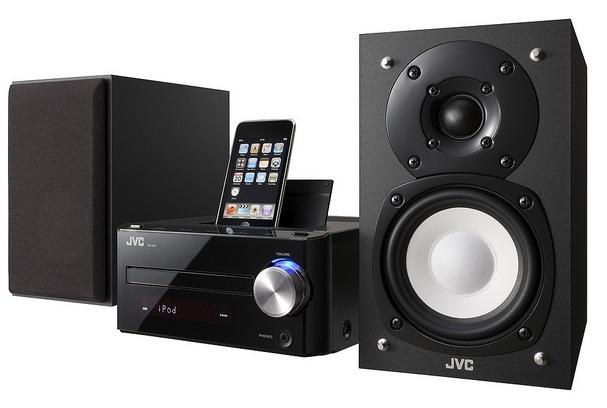 JVC UX-J51 HiFi sports iPod dock plus CD/radio for retro moments