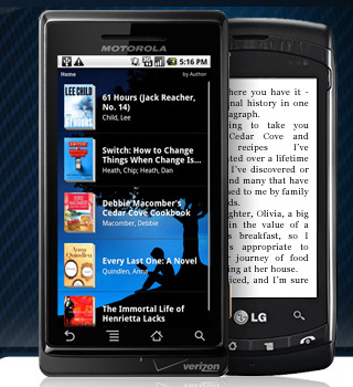 Kindle for Android updated: voice searches, Shelfari integration & annotations
