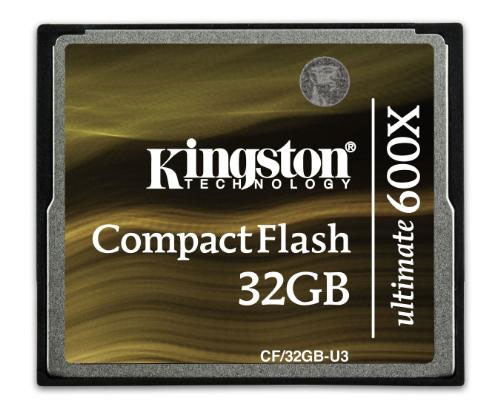 Kingston CompactFlash 600x cards aim at high-end DSLRs