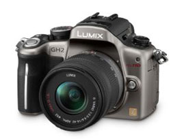 Panasonic unveils new Lumix GH2 micro four-thirds camera