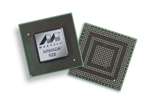 Marvell unleashes tri-core Armada 628 processor for smartphones and tablets