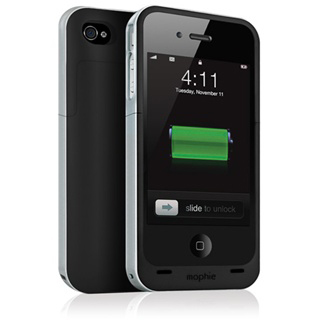 mophie juice pack for iPhone 4 doubles battery for $80