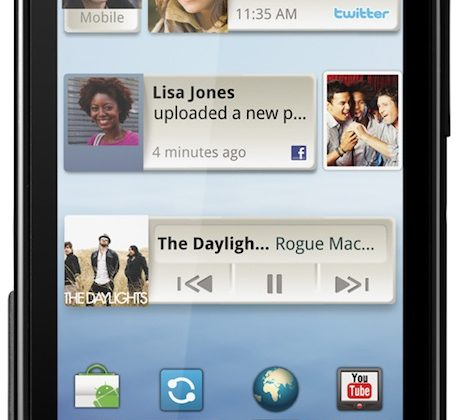 Motorola DEFY is rugged Android candybar