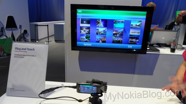 Nokia Plug and Touch turns any display into a touchscreen [Video]