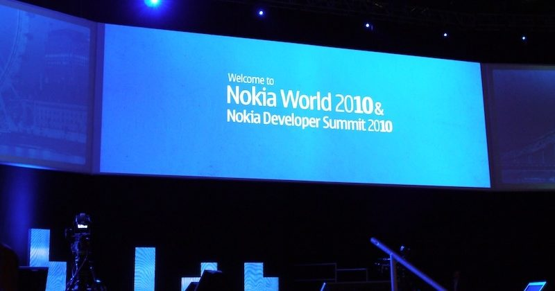 Nokia World 2010: We're here