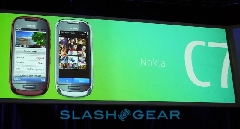 Nokia C6 and C7 get official - SlashGear