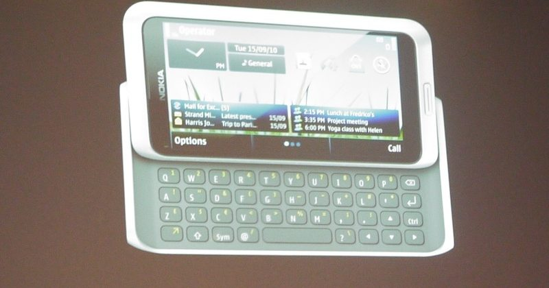 Nokia E7: 4-inch QWERTY smartphone outed