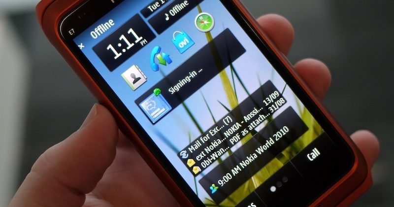 Nokia E7 browser & multimedia [Video]