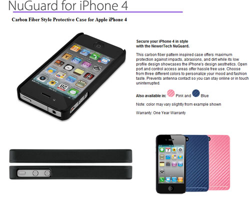NewerTechnolgoy reveals line of iPhone 4 cases