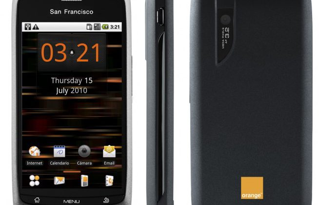 Orange's £99 San Francisco channels sunshine & cheap Android