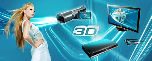 Panasonic goes 3D at IFA 2010