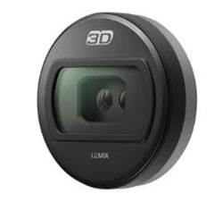 Panasonic outs 3D lens for micro four-thirds Lumix G cameras