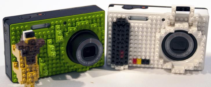 Pentax Optio RS1000 gets LEGO-style skin