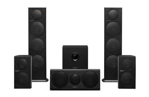 Pioneer unveils new speakers for home theater and more