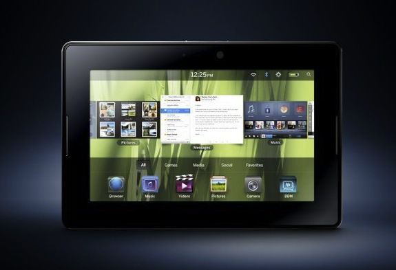 BlackBerry PlayBook takes on iPad: Full Specs & Details