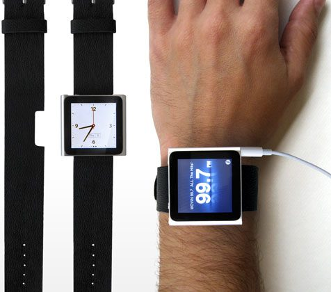 Rock Band iPod nano watch-strap is obvious accessory