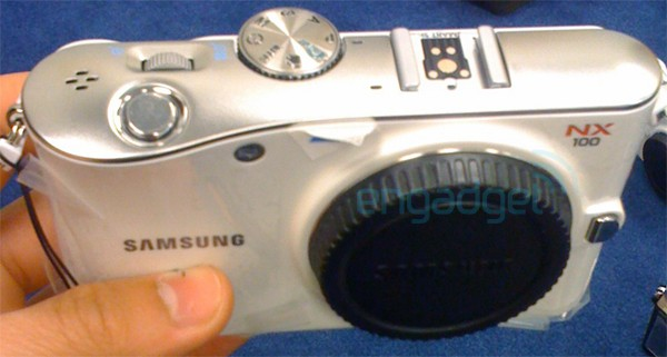 Samsung NX100 leaks ahead of Photokina reveal