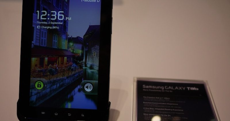 Samsung Galaxy Tab hands-on [Video]
