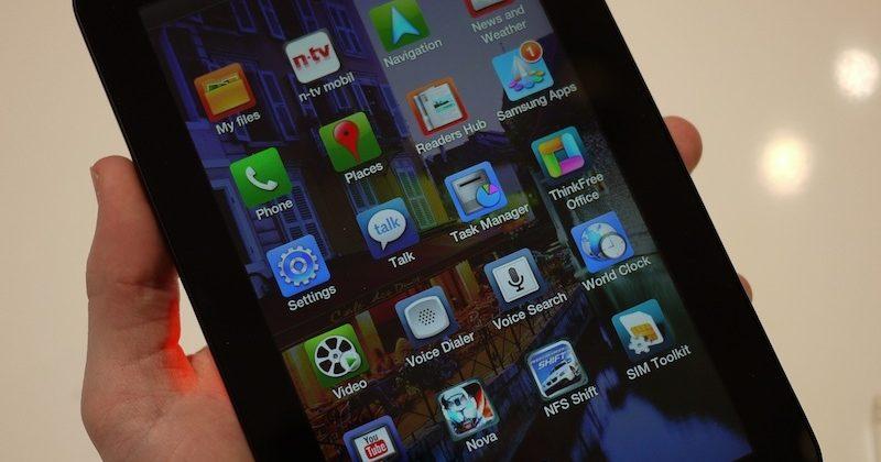 Samsung Galaxy Tab gets €799 unlocked German pricing