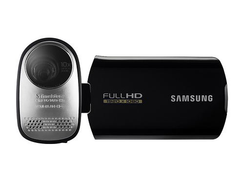 Samsung HMX-T10 Full HD camcorder packs touchscreen & OIS