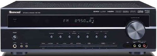 Sherwood unveils new RD-705i AV receiver