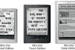 Sony Reader range refreshed: faster touchscreen E Ink & select 3G/WiFi