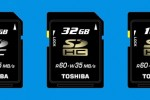 Toshiba to offer world's fastest SDHC memory card