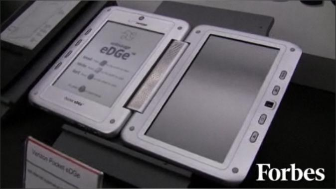 Verizon Pocket eDGe dual-display ereader caught in wild