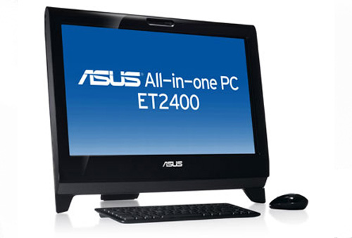 ASUS Eee Top ET2400XVT multitouch 3D all-in-one up for expensive pre-order