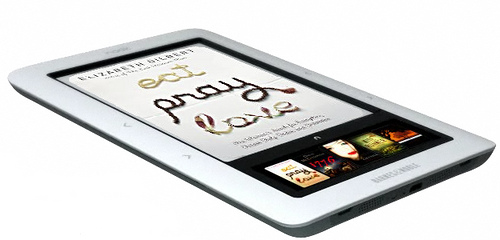 Barnes & Noble nook Color is an Android-Based Color Touchscreen eReader, Sources Say