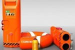 Buoyancy Launcher Hurls Life Preserver up to 150 Meters to Save Lives